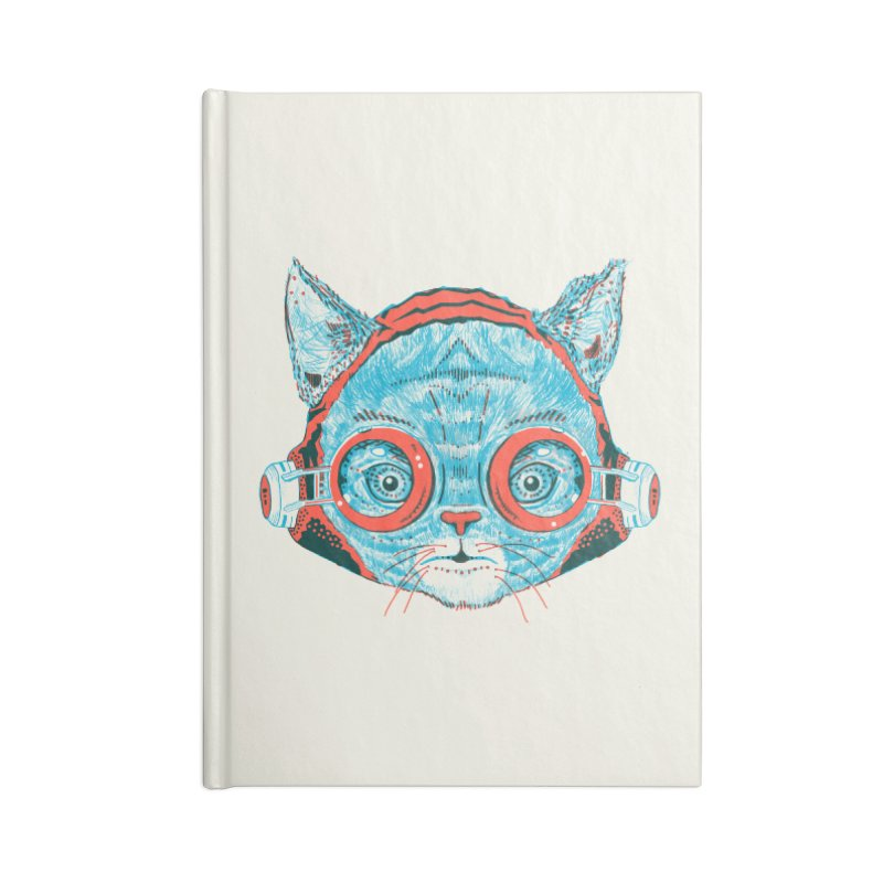Meowz Kanata Accessories Lined Journal Notebook by Steger