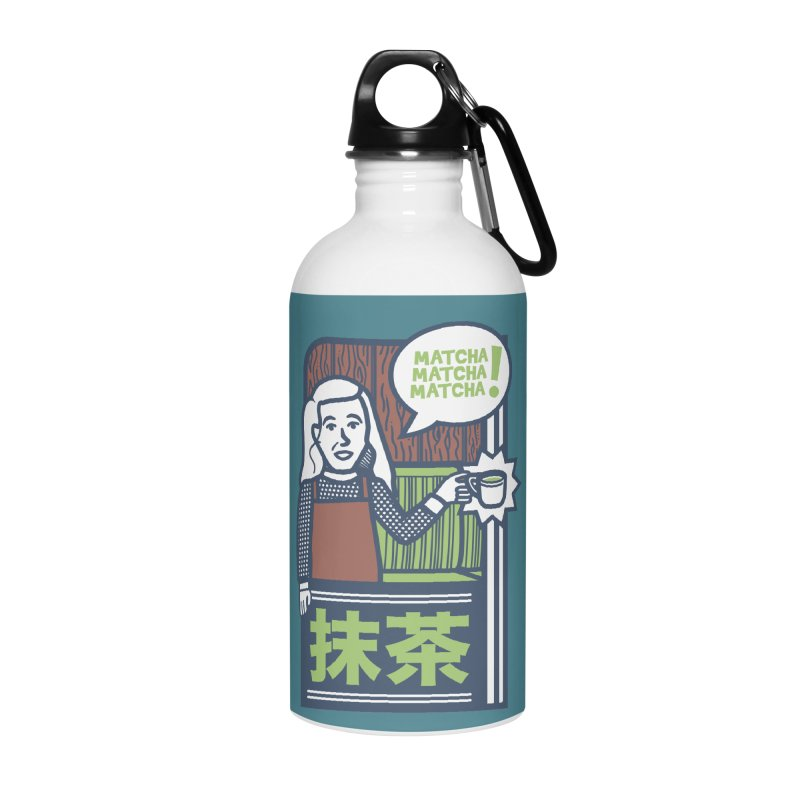 Matcha! Matcha! Matcha! Accessories Water Bottle by Steger