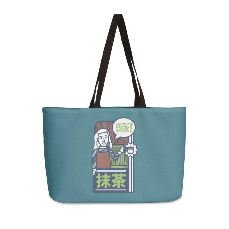 Matcha! Matcha! Matcha! Accessories Weekender Bag Bag by Steger