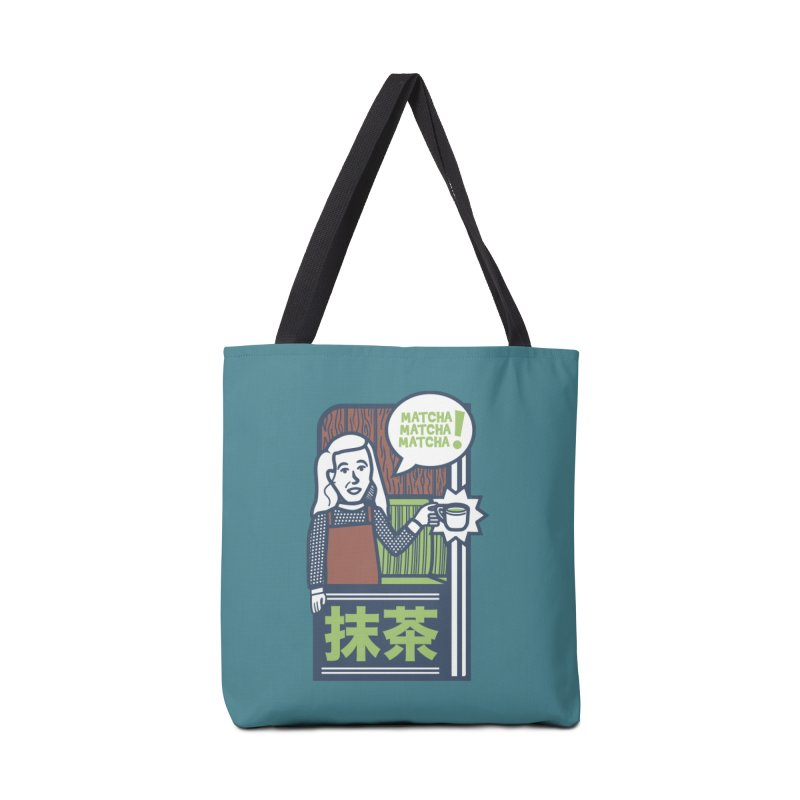 Matcha! Matcha! Matcha! Accessories Tote Bag Bag by Steger