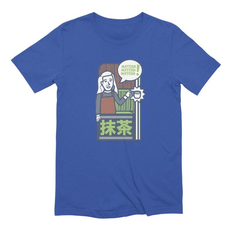 Matcha! Matcha! Matcha! Men's Extra Soft T-Shirt by Steger