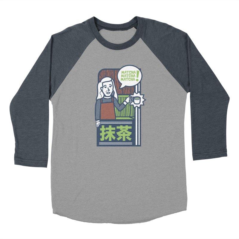 Matcha! Matcha! Matcha! Men's Longsleeve T-Shirt by Steger