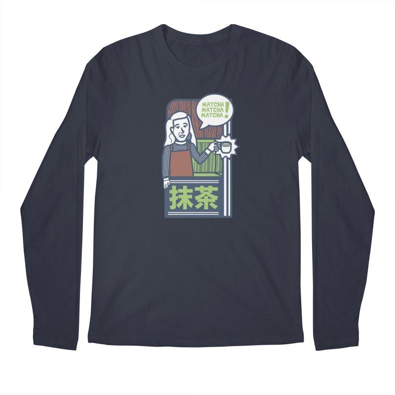 Matcha! Matcha! Matcha! Men's Regular Longsleeve T-Shirt by Steger
