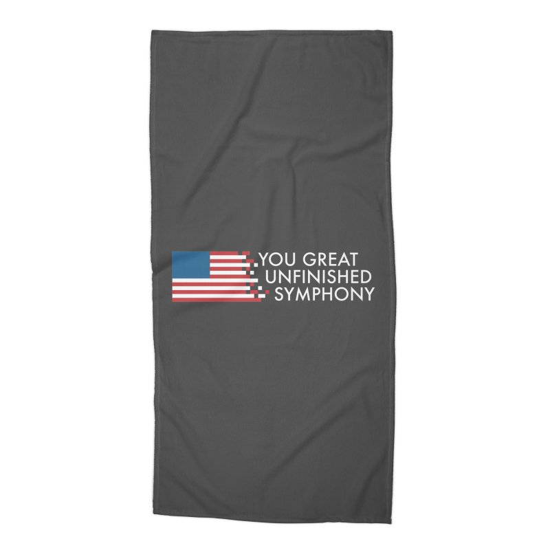 You Great Unfinished Symphony Accessories Beach Towel by Steger