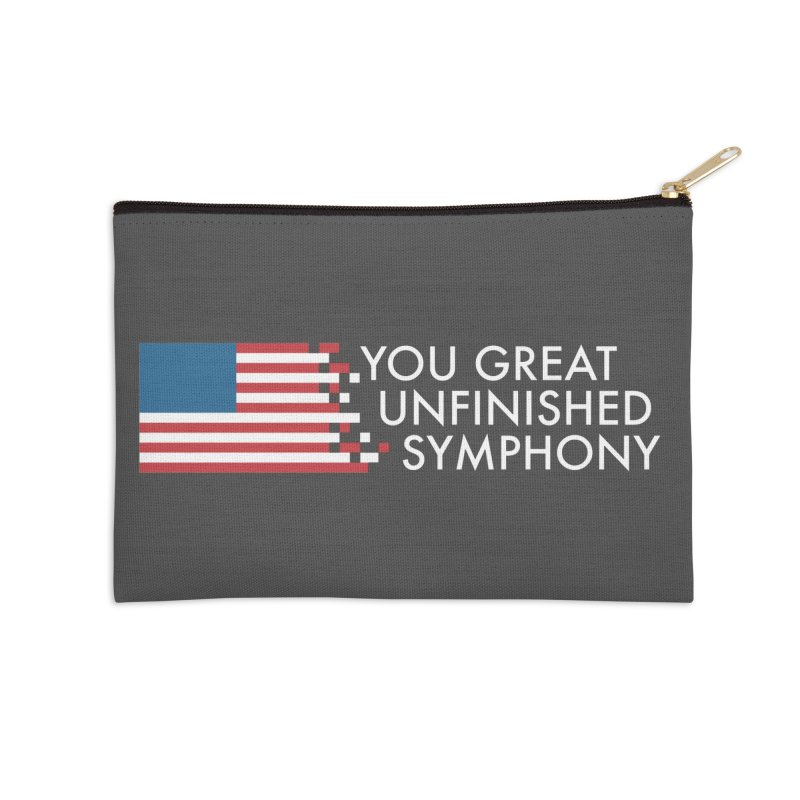 You Great Unfinished Symphony Accessories Zip Pouch by Steger