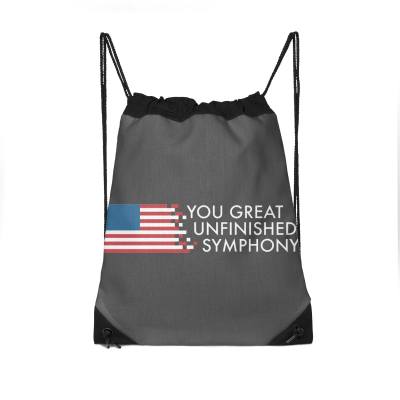 You Great Unfinished Symphony Accessories Drawstring Bag Bag by Steger