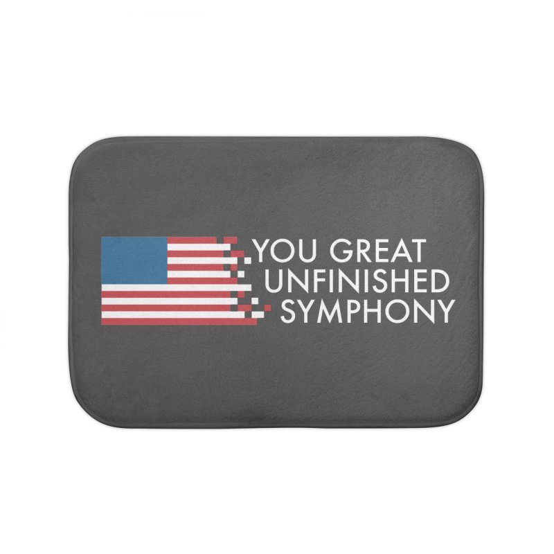You Great Unfinished Symphony Home Bath Mat by Steger