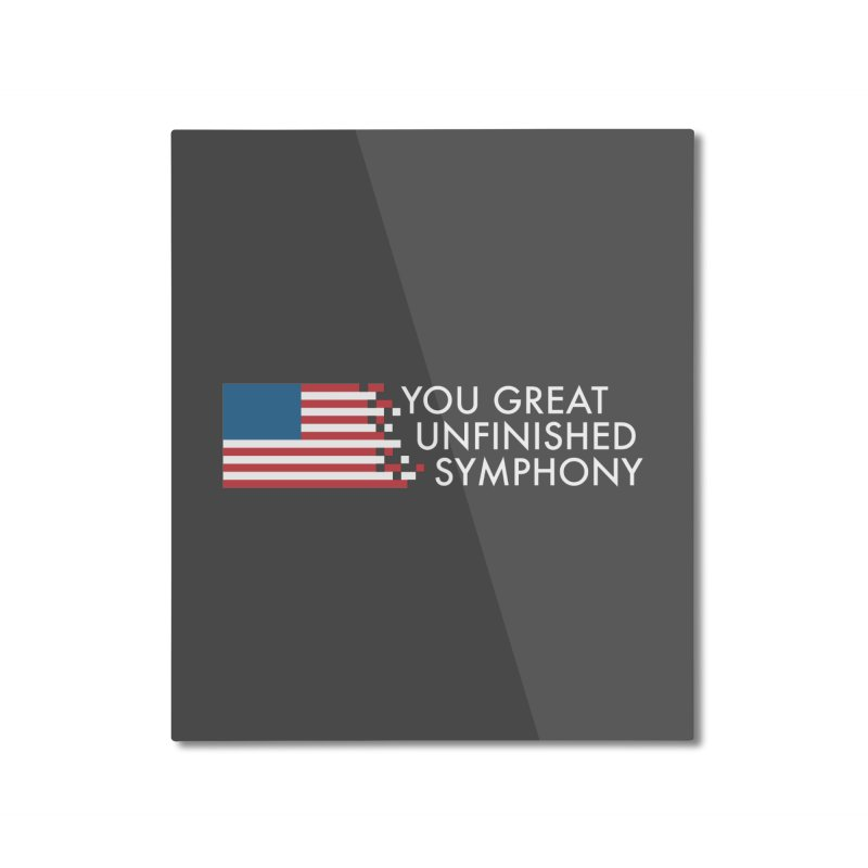 You Great Unfinished Symphony Home Mounted Aluminum Print by Steger