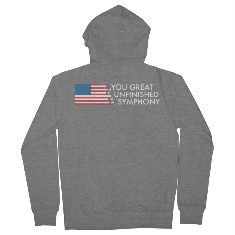 You Great Unfinished Symphony Women's French Terry Zip-Up Hoody by Steger