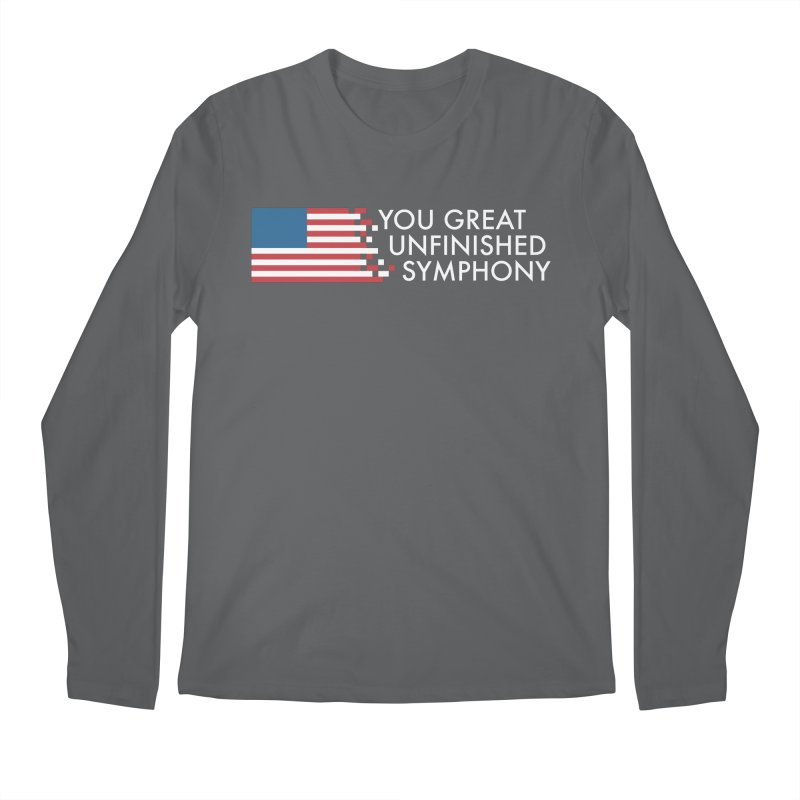 You Great Unfinished Symphony Men's Regular Longsleeve T-Shirt by Steger