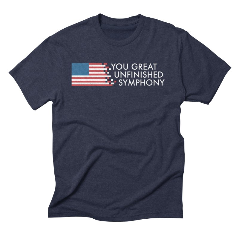 You Great Unfinished Symphony Men's Triblend T-Shirt by Steger