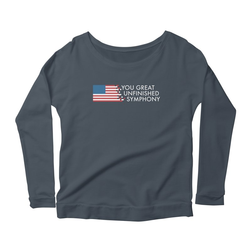 You Great Unfinished Symphony Women's Scoop Neck Longsleeve T-Shirt by Steger