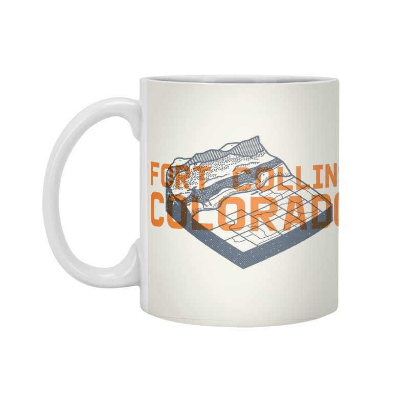 Fort Collins, Colorado Accessories Standard Mug by Steger