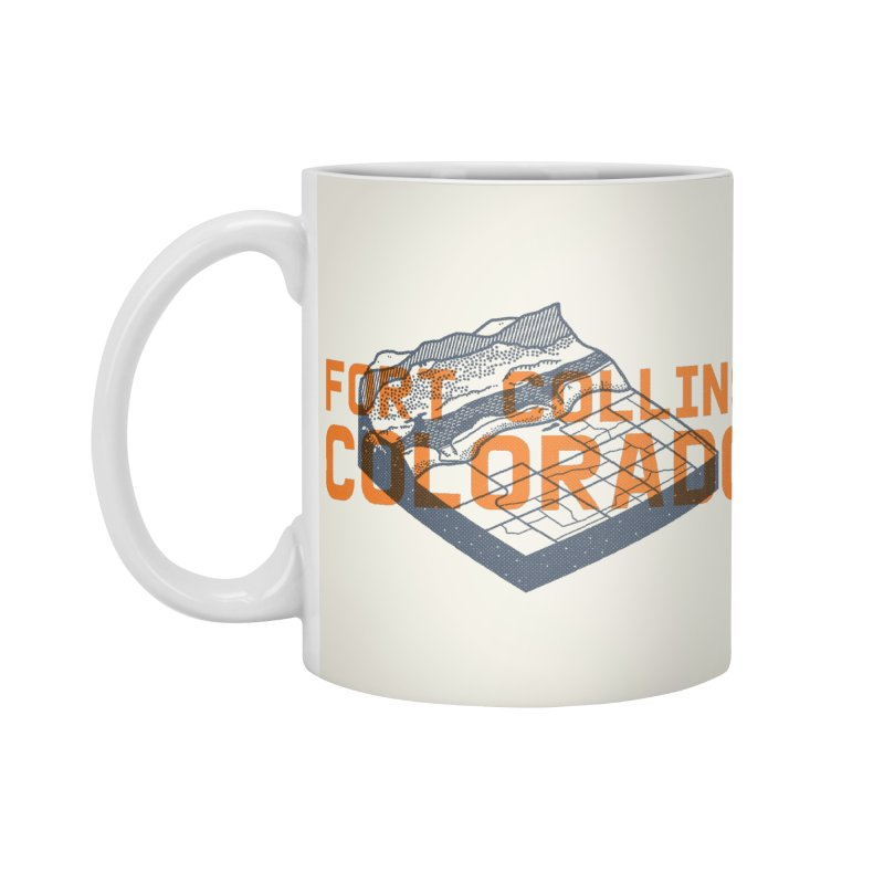 Fort Collins, Colorado Accessories Mug by Steger