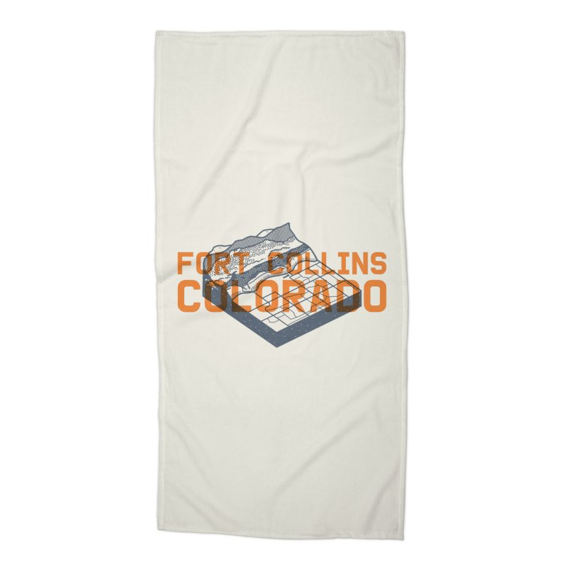 Fort Collins, Colorado Accessories Beach Towel by Steger