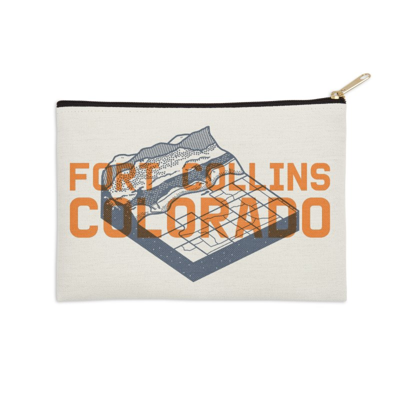 Fort Collins, Colorado Accessories Zip Pouch by Steger