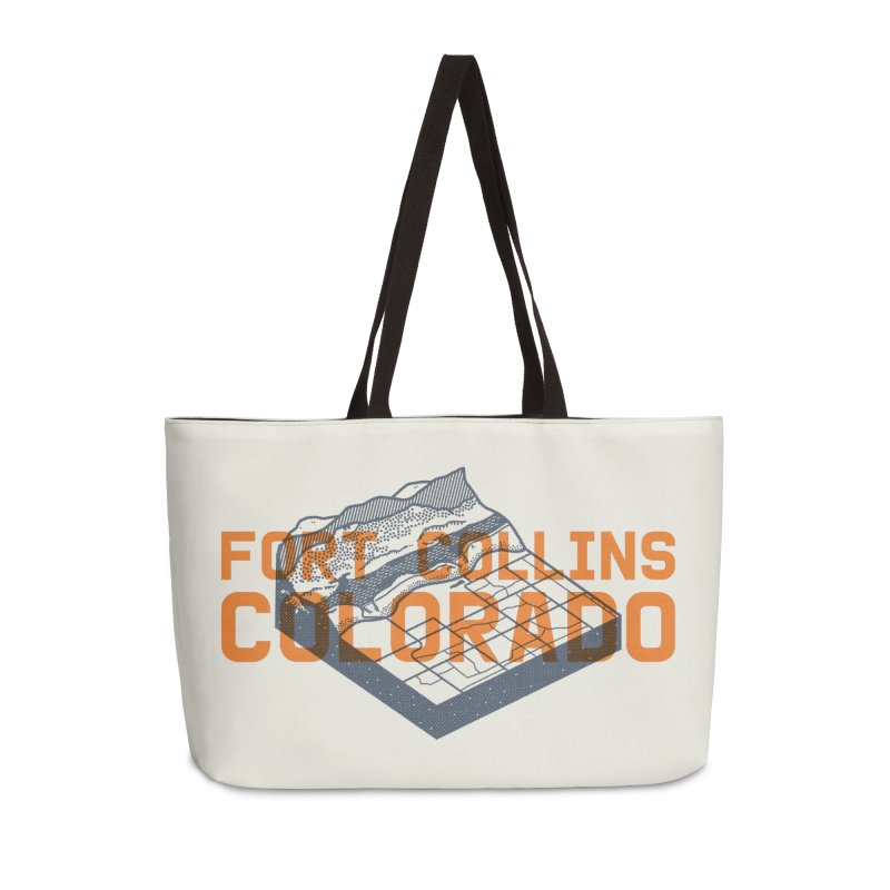 Fort Collins, Colorado Accessories Weekender Bag Bag by Steger