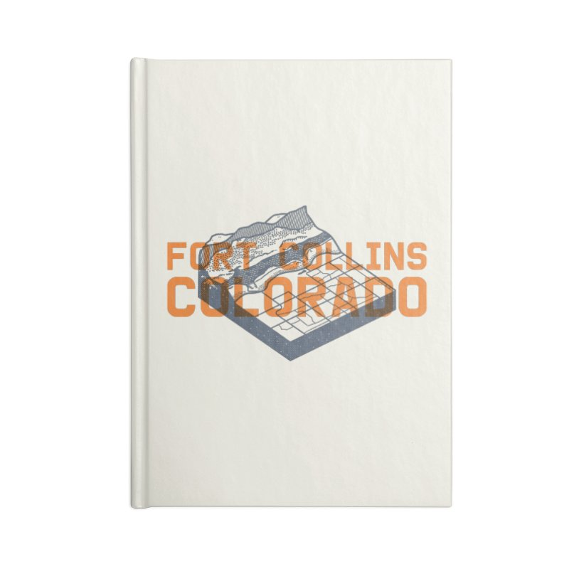 Fort Collins, Colorado Accessories Lined Journal Notebook by Steger
