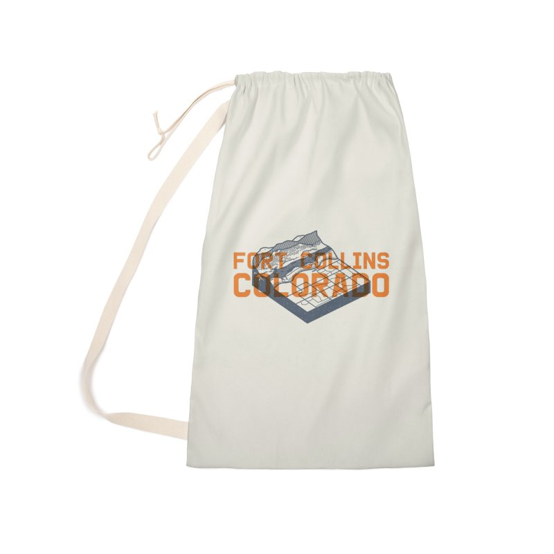 Fort Collins, Colorado Accessories Laundry Bag Bag by Steger