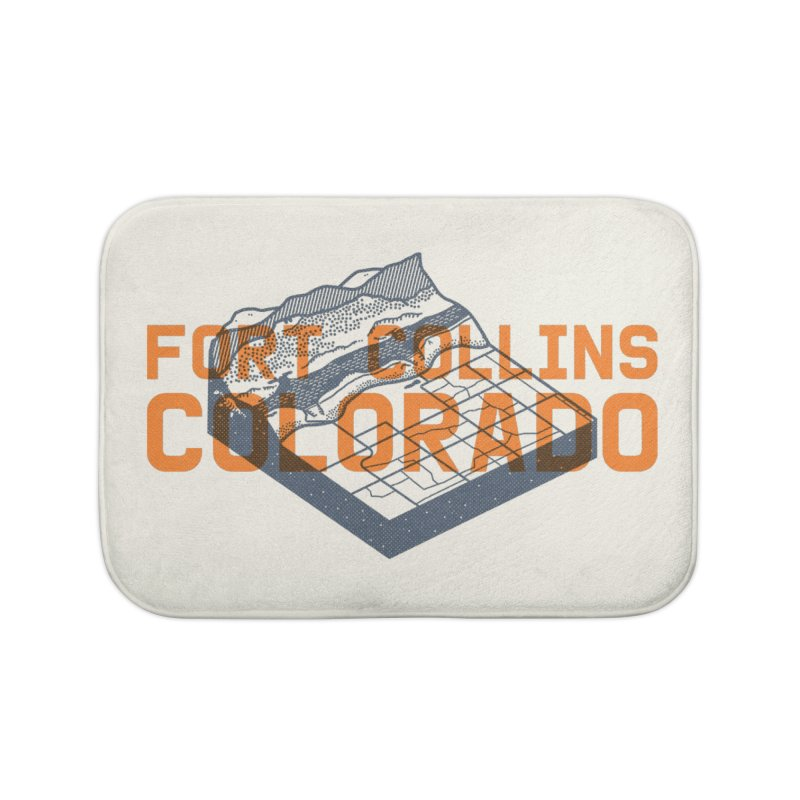 Fort Collins, Colorado Home Bath Mat by Steger