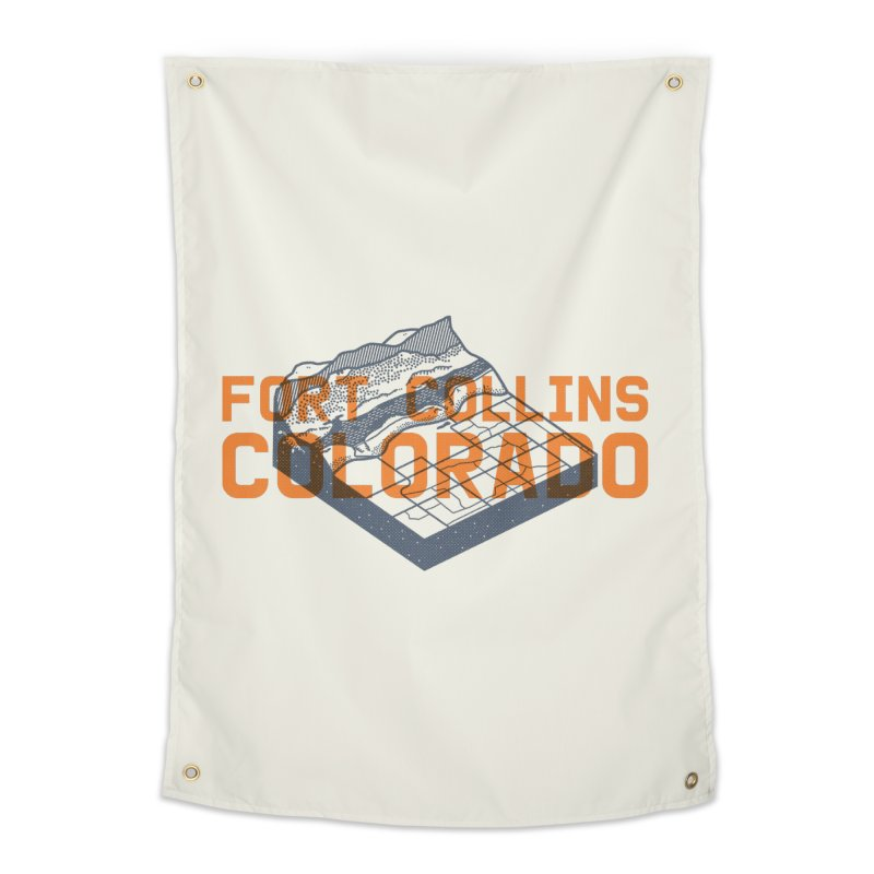 Fort Collins, Colorado Home Tapestry by Steger