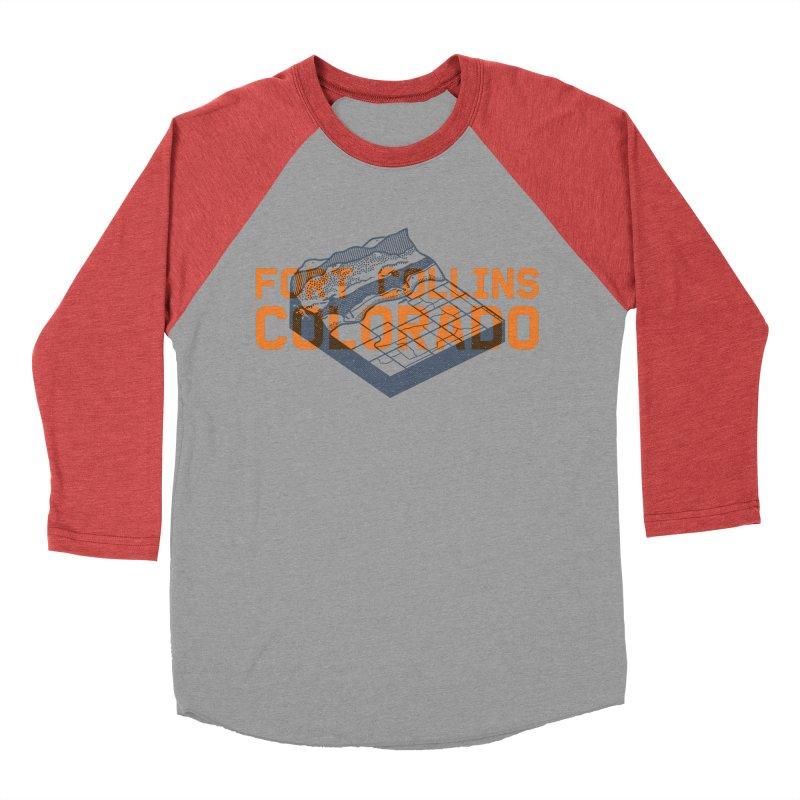Fort Collins, Colorado Men's Longsleeve T-Shirt by Steger
