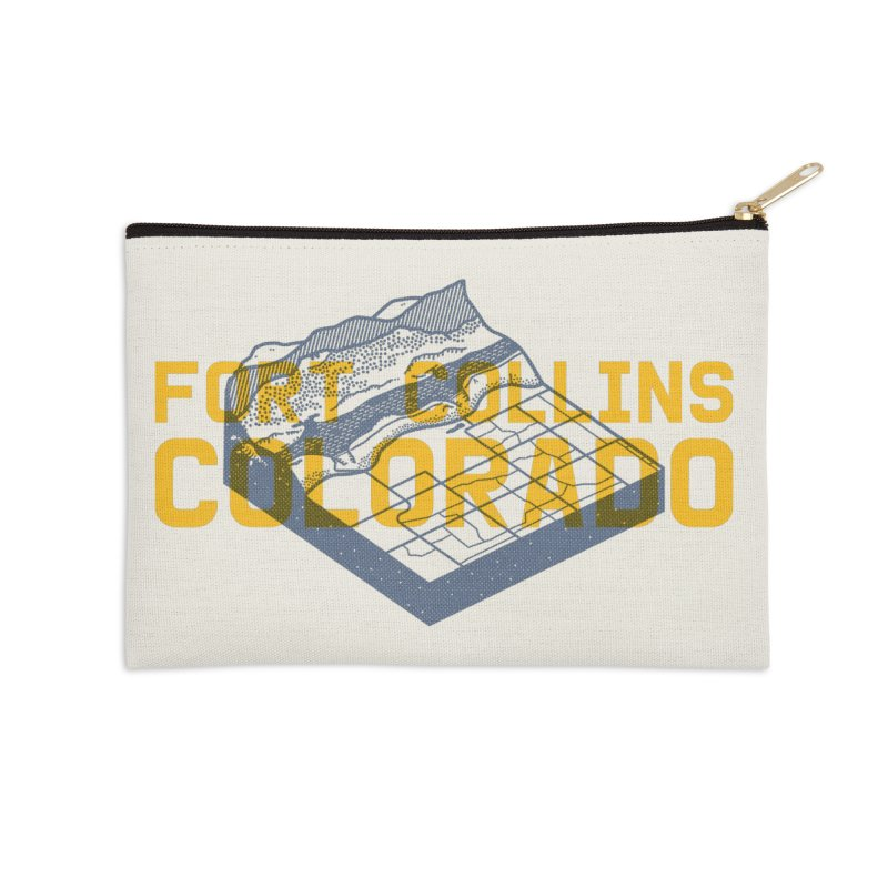 Fort Collins. Colorado Accessories Zip Pouch by Steger