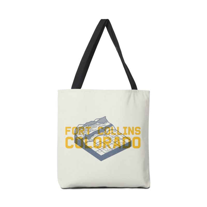 Fort Collins. Colorado Accessories Bag by Steger