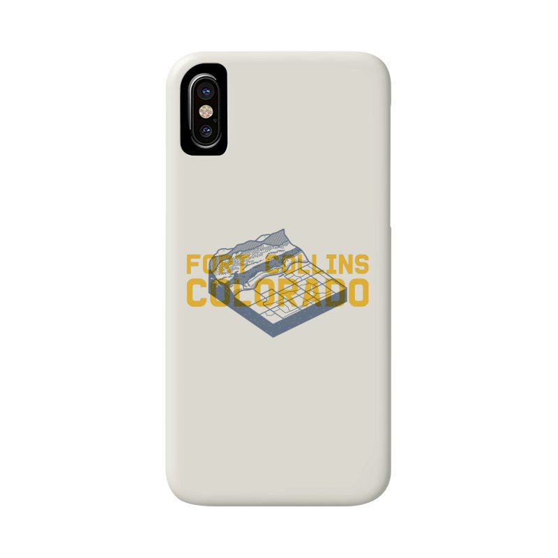 Fort Collins. Colorado Accessories Phone Case by Steger