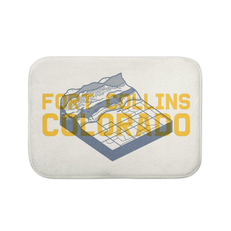 Fort Collins. Colorado Home Bath Mat by Steger