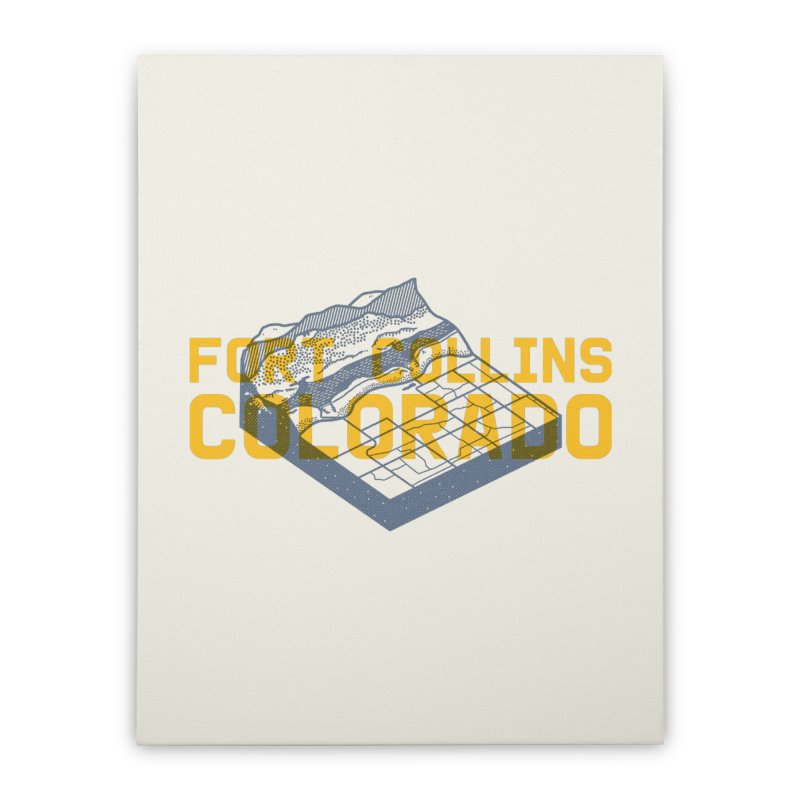 Fort Collins. Colorado Home Stretched Canvas by Steger