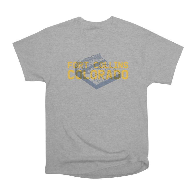 Fort Collins. Colorado Women's Classic Unisex T-Shirt by Steger