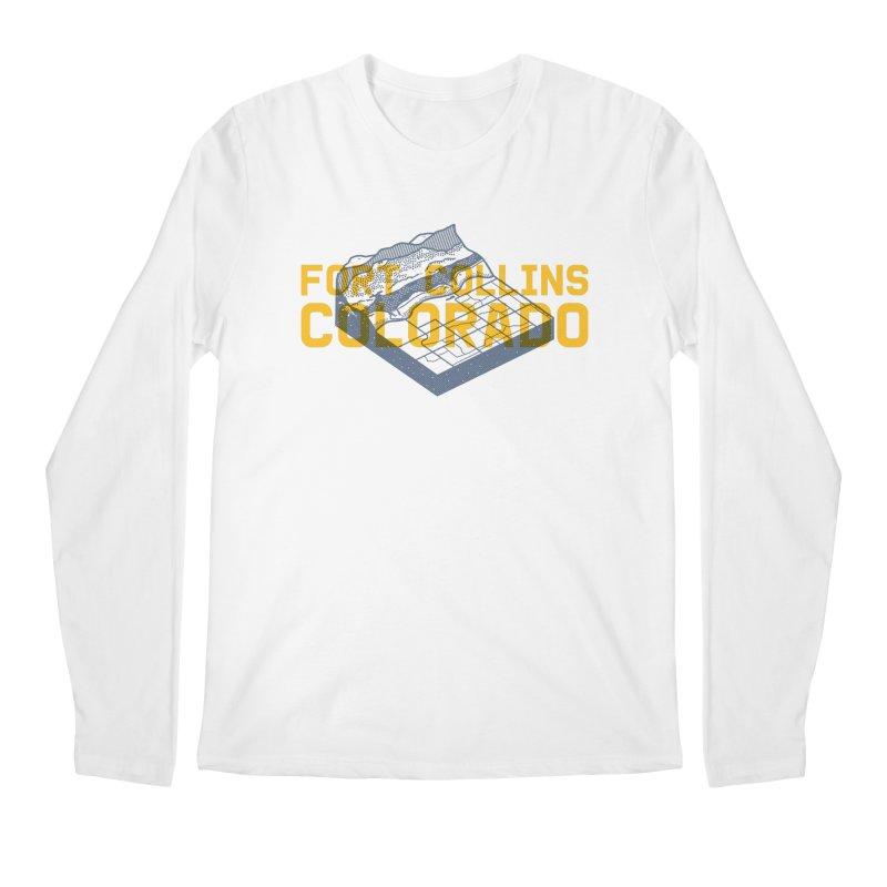 Fort Collins. Colorado Men's Longsleeve T-Shirt by Steger