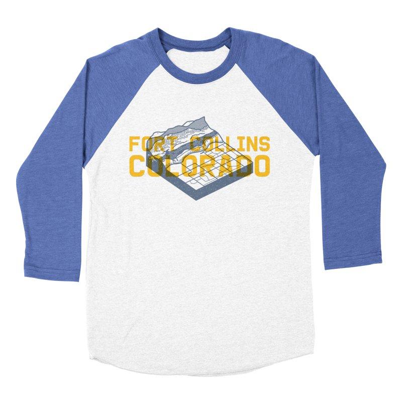 Fort Collins. Colorado Women's Baseball Triblend Longsleeve T-Shirt by Steger