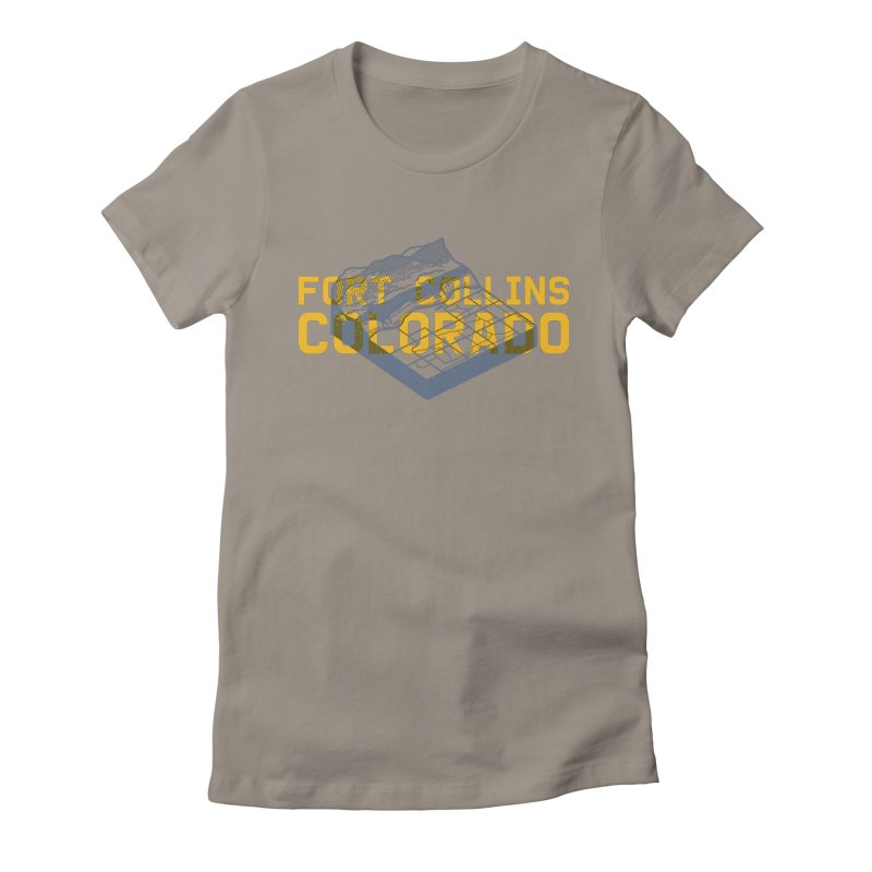 Fort Collins. Colorado Women's Fitted T-Shirt by Steger