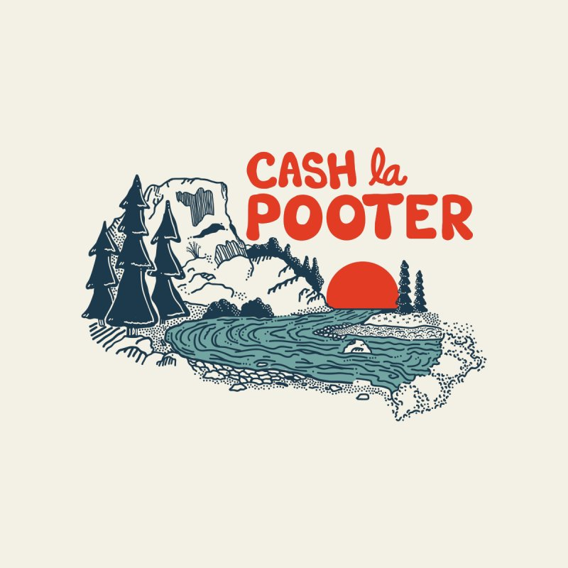 Cash La Pooter Women's Longsleeve T-Shirt by Steger