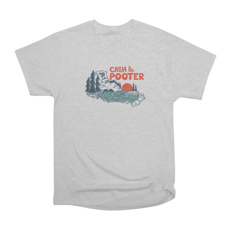 Cash La Pooter Women's Heavyweight Unisex T-Shirt by Steger