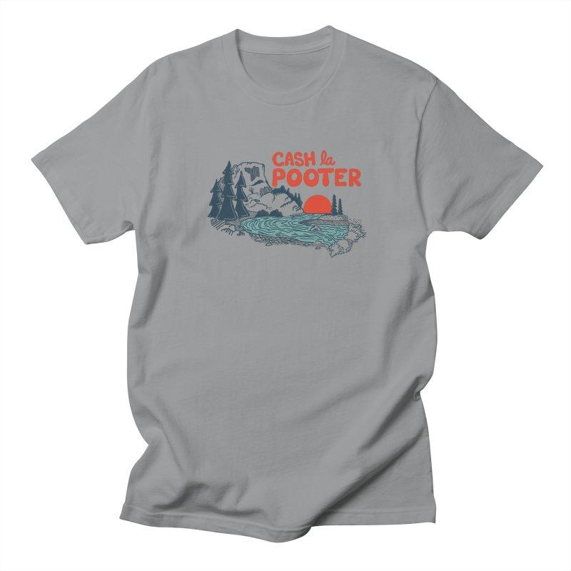 Cash La Pooter Men's Regular T-Shirt by Steger