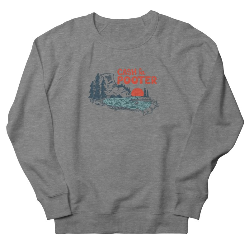Cash La Pooter Men's French Terry Sweatshirt by Steger