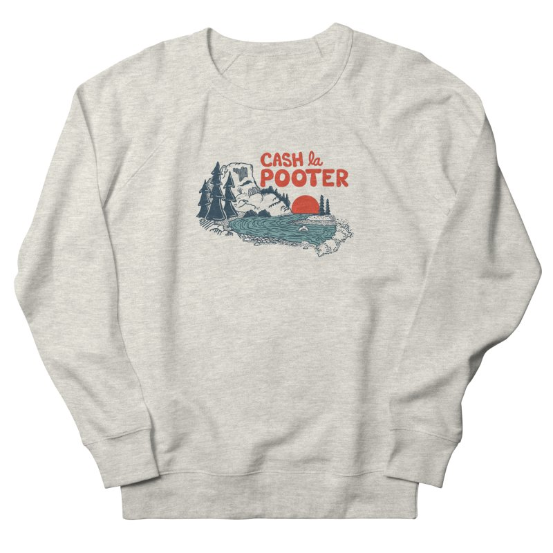 Cash La Pooter Men's French Terry Sweatshirt by Steger