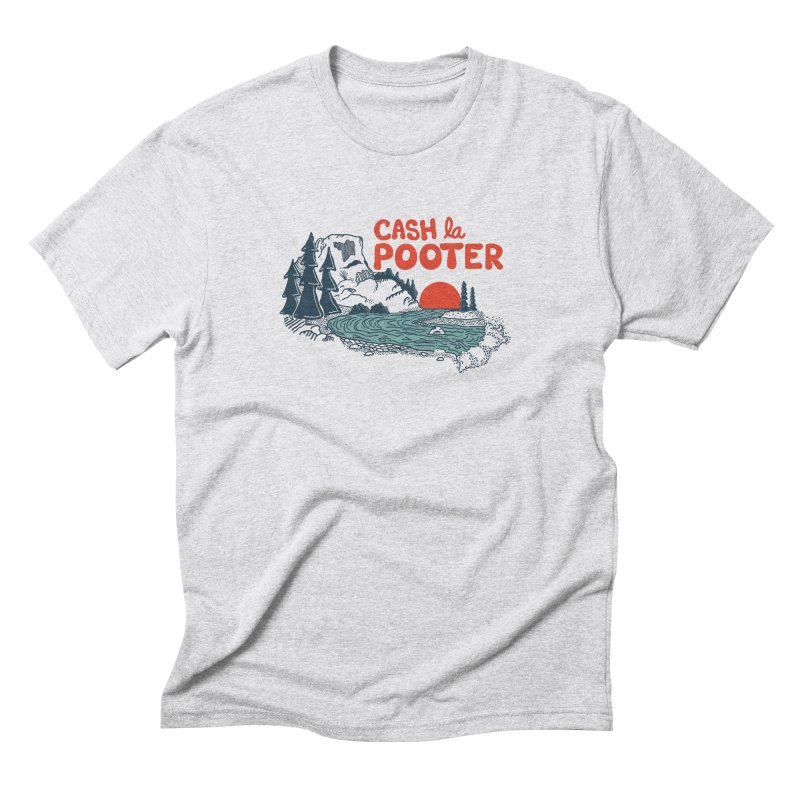 Cash La Pooter Men's Triblend T-Shirt by Steger