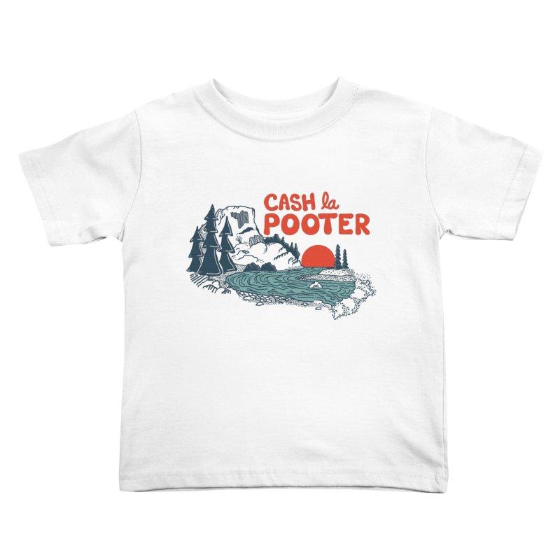 Cash La Pooter Kids Toddler T-Shirt by Steger