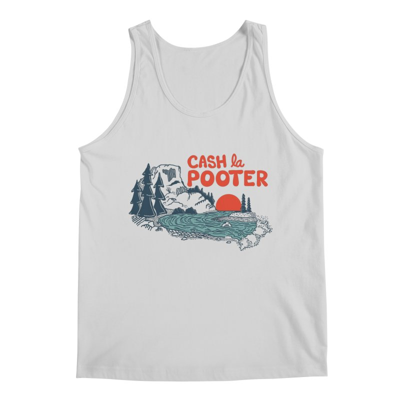 Cash La Pooter Men's Regular Tank by Steger
