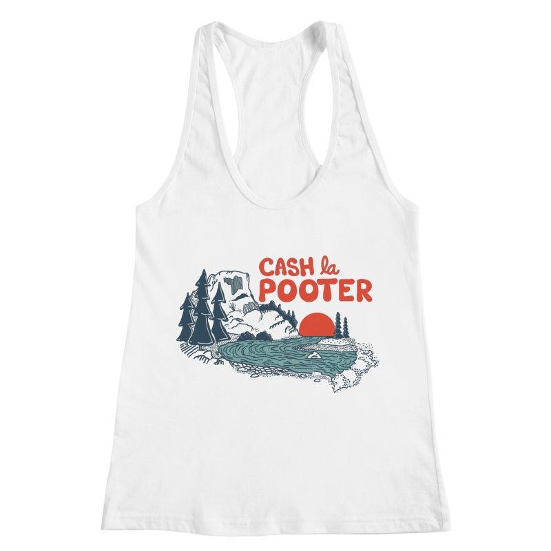 Cash La Pooter Women's Racerback Tank by Steger