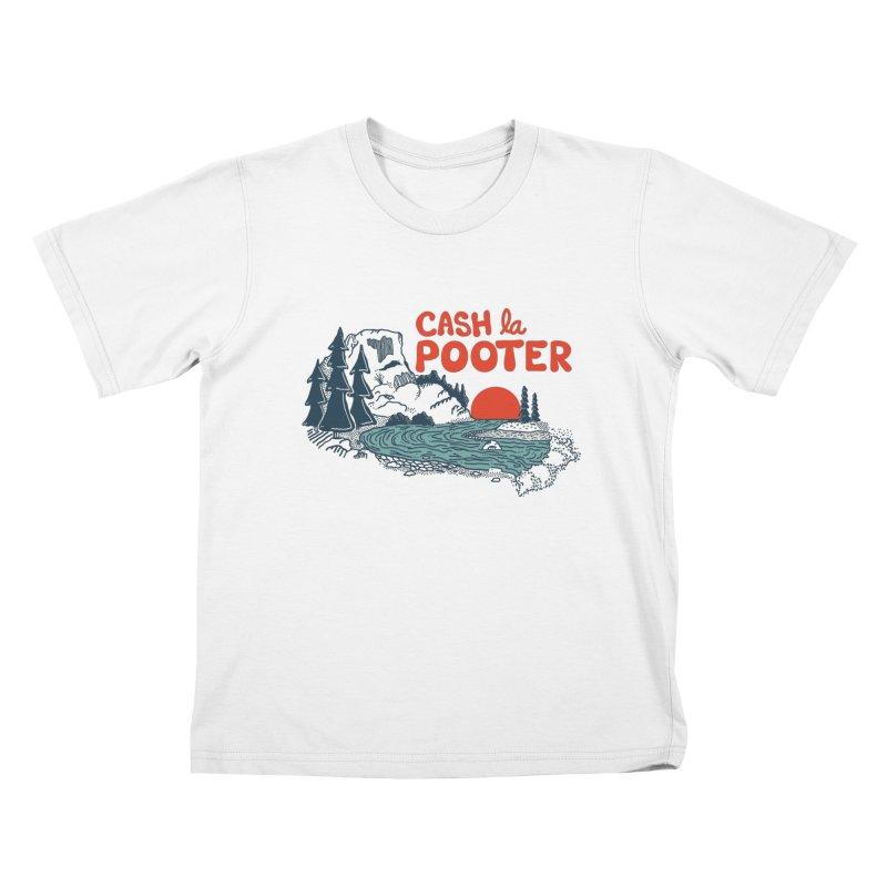 Cash La Pooter Kids T-Shirt by Steger