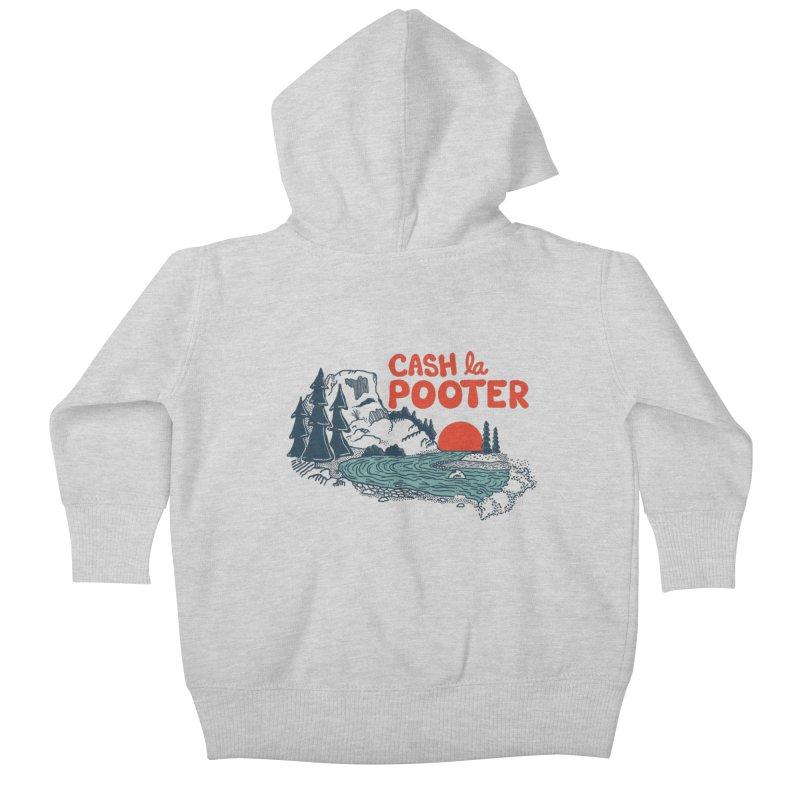 Cash La Pooter Kids Baby Zip-Up Hoody by Steger