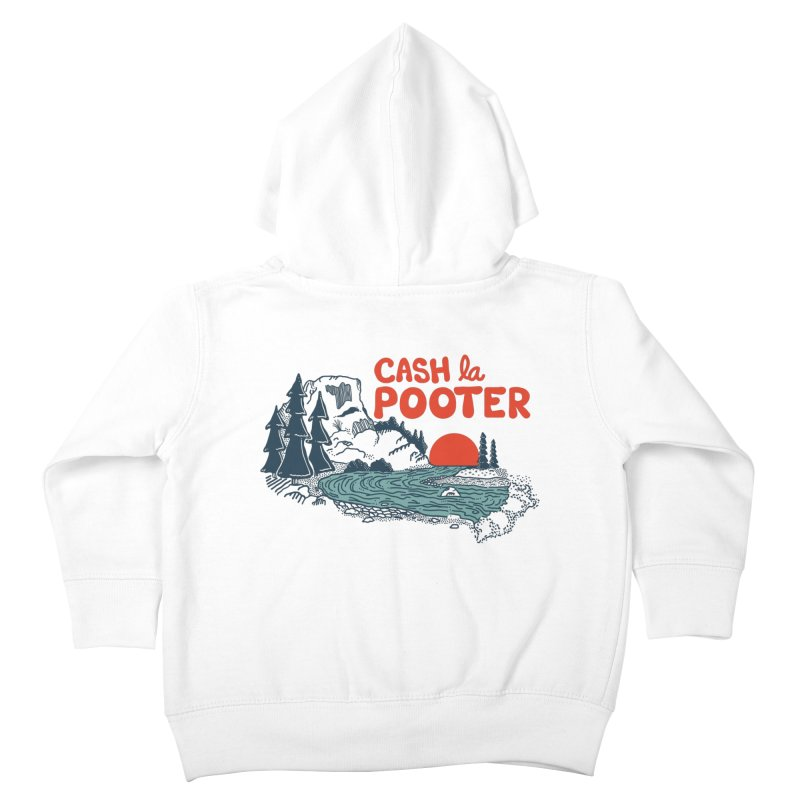 Cash La Pooter Kids Toddler Zip-Up Hoody by Steger