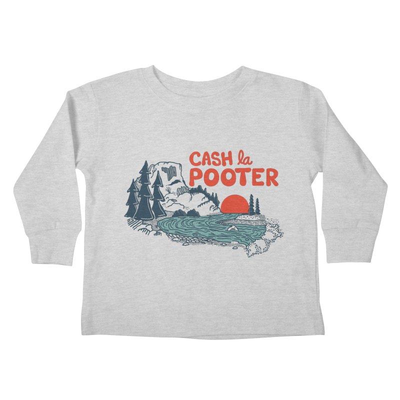 Cash La Pooter Kids Toddler Longsleeve T-Shirt by Steger