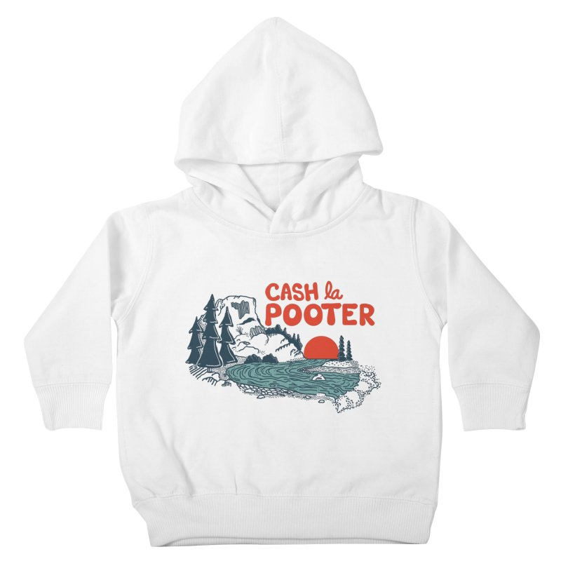 Cash La Pooter Kids Toddler Pullover Hoody by Steger
