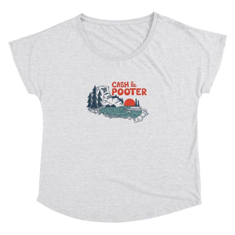 Cash La Pooter Women's Dolman Scoop Neck by Steger